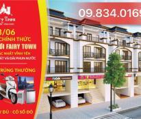 Bán gấp lô đất 140m2 dự án Fairy Town Nguyễn Tất Thành, TP Vĩnh Yên, sổ đỏ đầy đủ. LH: 09.834.01690