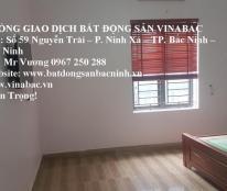 Cho thuê nhà 4 tầng, 5 phòng gần viện Hoàn Mỹ, TP.Bắc Ninh
