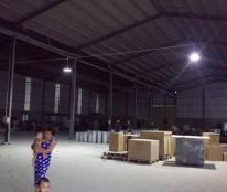 Cho thuê xưởng 3.000m2 tại Tân Phước Khánh, Tân Uyên, Bình Dương