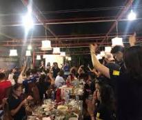 Theo vợ! Nhượng gấp nhà hàng DT: 2.500m2 khu Ẩm thực Ngọc Lâm - Long Biên