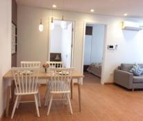 Cho thuê căn hộ cao cấp tại chung cư D2 - Giảng Võ 86m2, 2PN, tầng trung view hồ, giá 15triệu/tháng