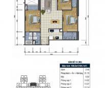 Bán căn hộ chung cư tại dự án Goldsilk Complex, Hà Đông, Hà Nội, diện tích 109m2, giá 2.3 tỷ
