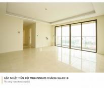 Cần tiền bán gấp 2 căn Millennium Bến Vân Đồn, Q4, tầng cao, view sông, giá tốt. LH 0902 995 882