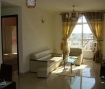Cho thuê CHCC Âu cơ Tower, Quận Tân Phú , Diện tích: 85 m2, 3 pn,  2 wc, căn góc,đầy đủ nội thất