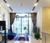 Cần cho thuê nhanh căn hộ 2 PN ở Vinhomes Tân Cảng, đầy đủ nội thất, view công viên