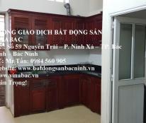 Cho thuê nhà 3 tầng 2 phòng ngủ tại Võ Cường, TP.Bắc Ninh