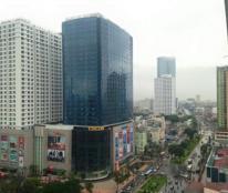Cho thuê văn phòng tòa D2 Giảng Võ, Ba Đình, DT 80m2, 160m2