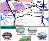 Bán đất tại đường Mỹ Xuân, Hắc Dịch, Tân Thành, Bà Rịa Vũng Tàu chỉ 210 triệu/100m2