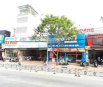 Kẹt tiền cần bán gấp nhà mặt tiền Lê Văn Lương, Quận 7, DT 8x55m, nở hậu 10,2m. Giá 93 triệu/m2
