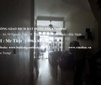 Bán nhà 3 tầng mặt đường Nguyễn Trãi   thông 2 đầu , Ninh Xá , TP Bắc Ninh