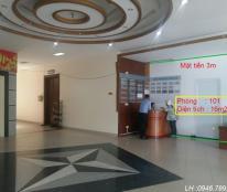 Cho thuê văn phòng đẹp phố Tôn Thất Tùng, miễn phí điện, nước, internet, LH 0946 789 051