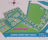 Đất nền dự án Thời Báo Kinh Tế (P. Phú Hữu) Q9, cần bán lô biệt thự, DT 22x20m, giá bán 20tr/m2