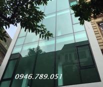 Cho thuê tòa văn phòng 6 tầng, Nguyễn Thái Học, Văn Miếu, Đống Đa, DT 55 m2, giá 12.5 tr/tháng