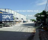 Cho thuê kho hướng Đông Nam, khu Khả Lễ, TP.Bắc Ninh