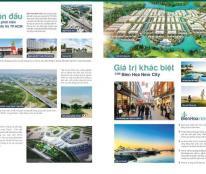 Bien Hoa New City khu đô thị vệ tinh liền kề HCM mở bán giai đoạn đầu chỉ 10 tr/m2 sổ đỏ trao tay