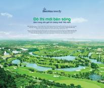 Đất nền sổ đỏ TP MỚI BIÊN HÒA trong sân golf Long Thành, 3 mặt giáp sông Đồng Nai