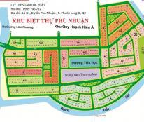 án đất KDC Phú Nhuận, p. Phước Long B, quận 9