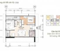 Chính chủ căn 65,5m2 tầng 2503 tòa CT1 Chung cư A10 Nam Trung Yên