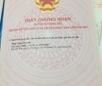 Tôi cần bán lô đất A1-9 khu dân cư Bửu Sơn, phường Phước Mỹ, thành phố Phan Rang - Tháp Chàm