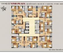 Nhượng lại căn hộ 2 phòng ngủ ngay ngã tư Ga, TP Vinh 0985475625