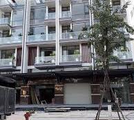 Cần cho thuê nhà nguyên căn shop house, khu đô thị Vạn Phúc, giá 45 tr/th, nhà 1 trệt, 5 tầng