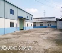 Cho thuê kho, nhà xưởng, đất tại xã Sao Đỏ, Chí Linh, Hải Dương DT 1004m2 giá 35 nghìn/m2/tháng