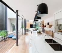 Cần bán gấp HXH 8m Vạn Kiếp, P.3, Bình Thạnh, cách MT 50m, DT 5x20m, 2 lầu, nhà mới đẹp, giá 9.5 tỷ