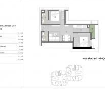 200tr sở hữu căn hộ 2PN, khu Phúc Lợi, Long Biên, chung cư Ruby City CT3 siêu hot