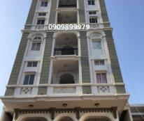 Bán nhà mặt tiền ngay Cầu Bông, 6x18m, hầm 8 tầng, 35 tỷ