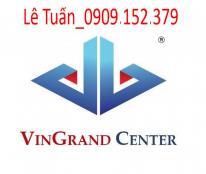 Bán nhà mặt tiền phố Yersin ngay Võ Văn Kiệt, Quận 1, DT: 8.25x20m, NH: 18m. Hầm, 4 lầu