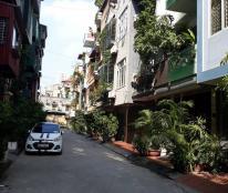 Bán nhà đường Hoàng Quốc Việt, 32m2, 4 tầng, MT 3,5m, 4,5 tỷ phân lô ô tô tránh
