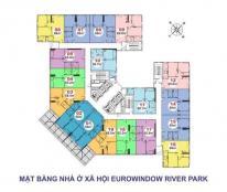 Chung cư Eurowindow River Park giá cực rẻ 14tr/m2, gần Big C Long Biên. LH: 0964.811.355