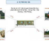 Bán đất nền dự án Đô thị V- Green City Phố Nối, giá 8 triệu/m2