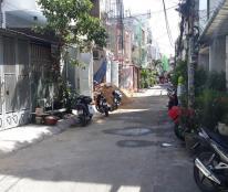 Nhà hẻm 8m Nguyễn Thế Truyện, P Tân Sơn Nhì, Q Tân Phú, DT 10.65x21.67m, NH 11,44m