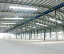 Cho thuê kho xưởng 400m2, 600m2, 3.000m2, giá 40.000đ/m2/th, thị trấn Bến Lức, Long An