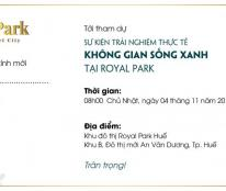 Royal Park lại tiếp tục khẳng định vị trí độc tôn và tiềm năng phát triển của mình trên TT Huế
