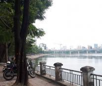 Chính chủ bán nhà mặt hồ Hoàng Cầu, Đống Đa 111m2, 5T, MT 5.2m, giá 26.5 tỷ