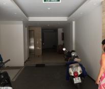 Cho thuê nhà mặt phố Thuỵ Khuê, Tây Hồ. DT 65m2 x 7 tầng, MT 5,5m có thang máy và tầng trệt để xe