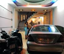 Nhà Trần Khát Chân, 45m2, MT 4m, ô tô tránh, lô góc, kinh doanh sầm uất, 4.4 tỷ