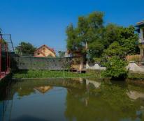 Bán trang trại sân vườn Đại Bản, An Dương, Hải Phòng, an hưởng tuổi già, 10tr/m2