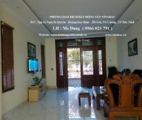 Cho thuê biệt thự 9 phòng khép kín khu Võ Cường, TP Bắc Ninh