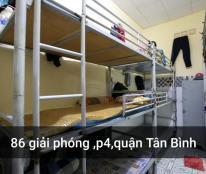Cho thuê KTX giá chỉ từ 650 nghìn/người bao điện nước ở Tân Bình