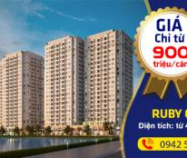 Ruby City CT3 Phúc Lợi 18,2 tr/m2, 890 tr/căn full nội thất. LH: 0984 159 493