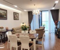 Cho thuê căn góc tầng 21 tòa B chung cư Golden Palace, 141m2, 3 PN, đủ nội thất, 22tr/th