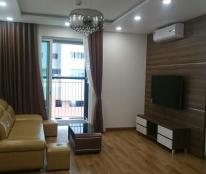 Cho thuê căn góc tầng 21 tòa B chung cư Golden Palace 141m2, 3 PN, đủ nội thất, 22tr/th