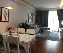 Cho thuê CHCC Golden Palace Mễ Trì, 141m2, 3 PN sáng, full nội thất, view đẹp, giá 22tr/th