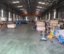 Cho thuê kho xưởng DT 1500m2-4500m2 Chỉ Đạo, Văn Lâm, Hưng Yên
