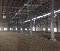 Cho thuê kho xưởng DT 6000m2, KCN Minh Đức, Mỹ Hào, Hưng Yên