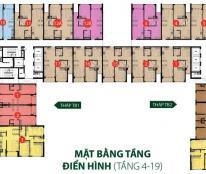 Cần bán căn hộ 3 phòng ngủ + 2 WC, diện tích 96m2, giá bán 4.3 tỷ, nội thất 80%, The Botanica