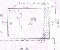 Bán lô đất, đường Phạm Văn Bạch, P15, Q. Tân Bình, TP. HCM